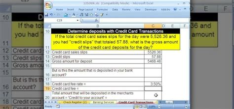 make credit card how to make credit card calculations with microsoft excel