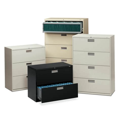 hon lateral file cabinets hon brigade 3 drawer lateral file cabinet atwork office
