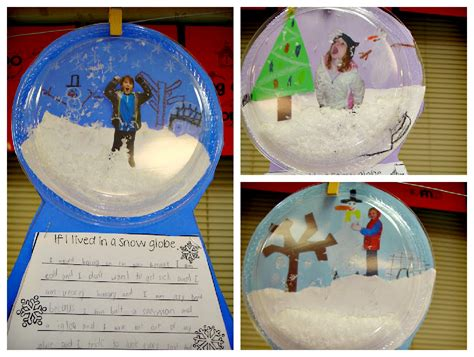 snow craft for snow globe craft for be a great pairing to the