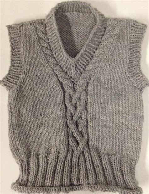 knitting handmade handmade knitted baby sweater vest