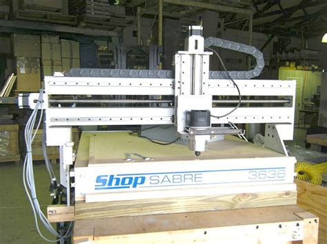 used cnc routers for woodworking used cnc routers shopsabre model 3636 cnc router used