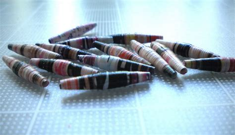 recycled paper bead maker crafter s delights tutorial how to make recycled paper