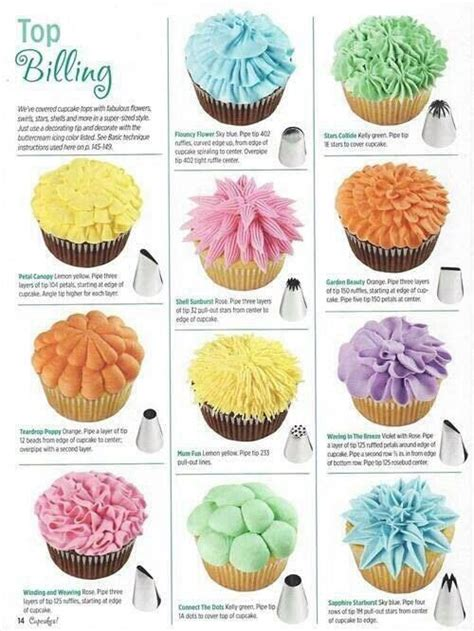 icing decorations for cupcakes cupcake decorating decorating tips frosting decoration