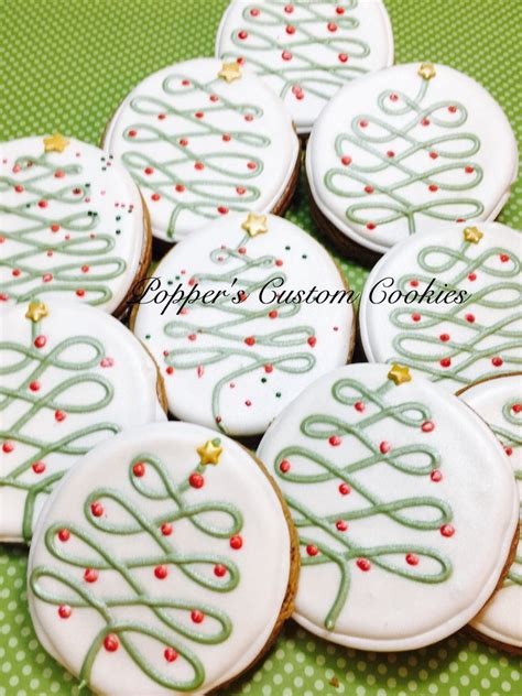 tree sugar cookie decorating best 25 decorated cookies ideas on