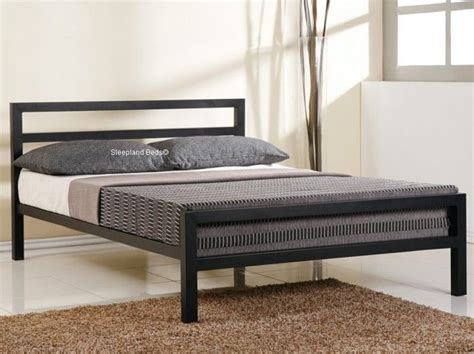 king steel bed frame 1000 ideas about metal bed frames on metal