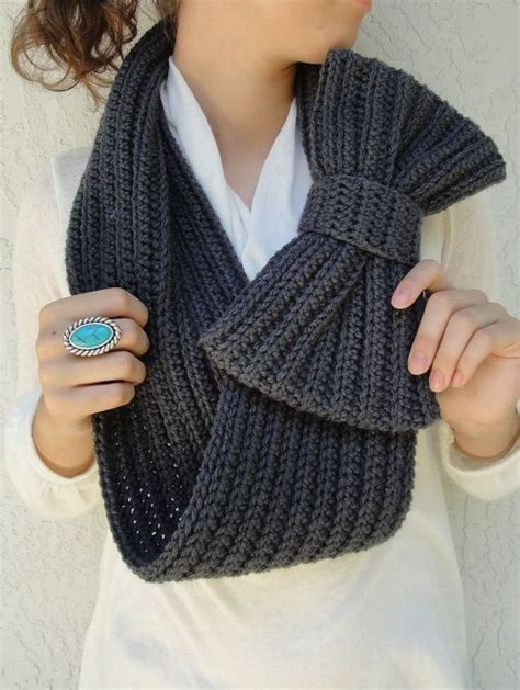 free knitting pattern for snood scarf 374 best images about id 201 es tricot et crochet on