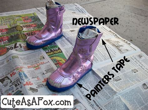 spray painting boots spray painted boots