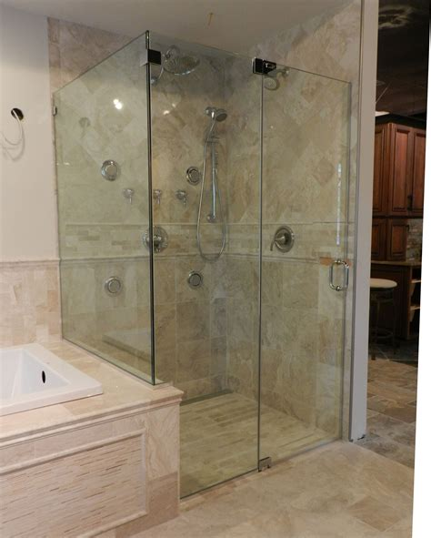 bathroom shower door ideas shower glass panel for contemporary bathroom styles amaza design