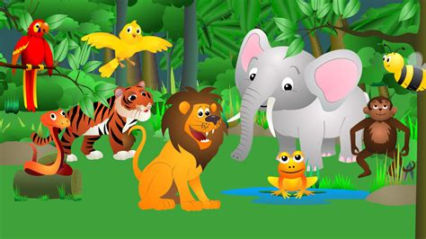 animal jungle best animal sounds song jungle