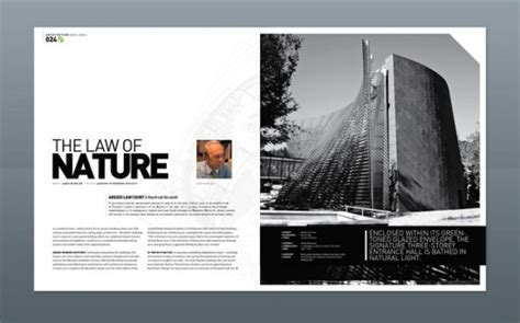 modern architecture magazine 36 stunning magazine and publication layouts for your
