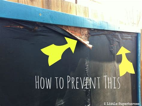chalk paint exterior how to prevent your outdoor chalkboard from rotting 2