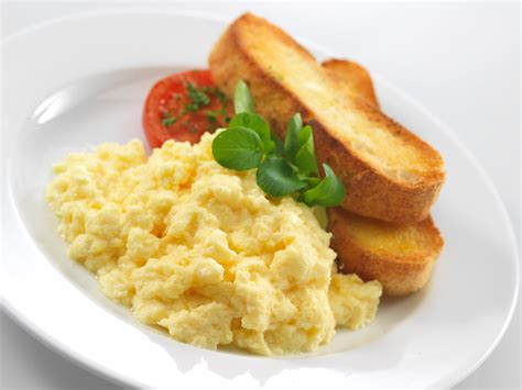 scrabble eggs scrambled eggs with toast recipe yard