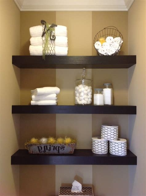 decorative shelves for bathroom floating shelves bathroom diy wooden shelf green