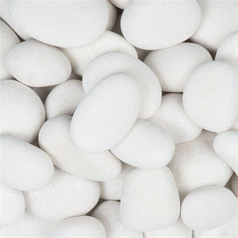 white garden rocks forest 1 in to 3 in 30 lb small egg rock
