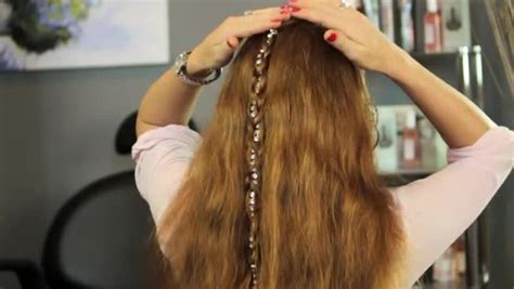 how to braid hair with string and how to braid a string in your hair ehow