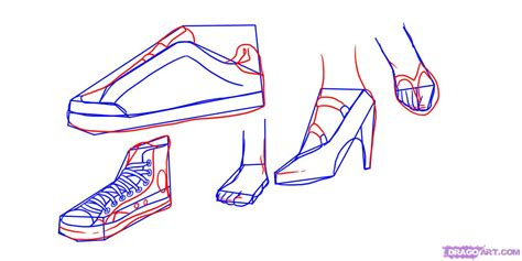 how to draw shoes step 3 how to draw shoes