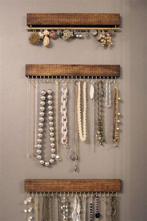 how to make jewelry displays picture of wood and brass jewelry display racks you can