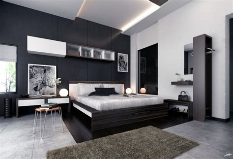 black and white modern bedrooms photographs monochrome modern bedroom black and white