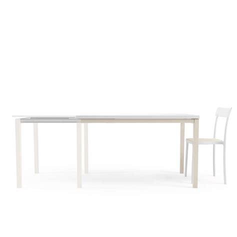 table de cuisine en verre avec rallonge bois 4 pieds tables chaises et tabourets