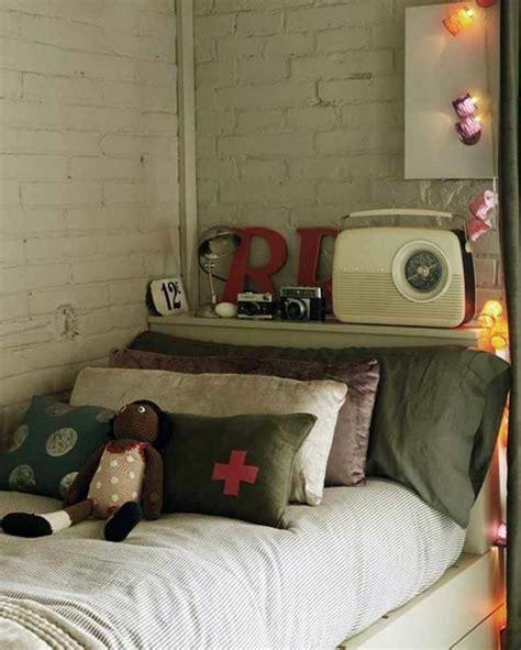 retro decorations ideas vintage bedroom decoration ideas with radio