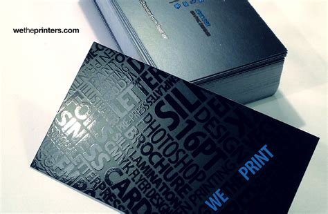 how to make spot uv business cards creative 16pt standard spot uv business card digital