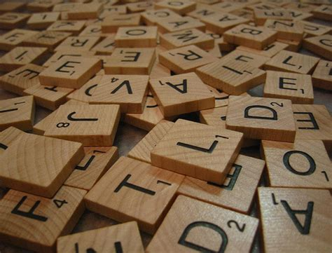 ve scrabble cottage craft