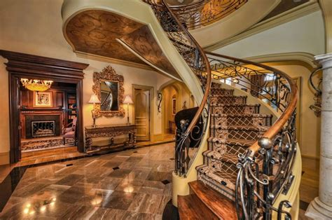 French Manor House Plans staircases luxury living christie s