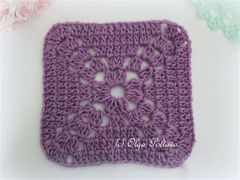 crochet square lacy crochet simple crochet square free pattern