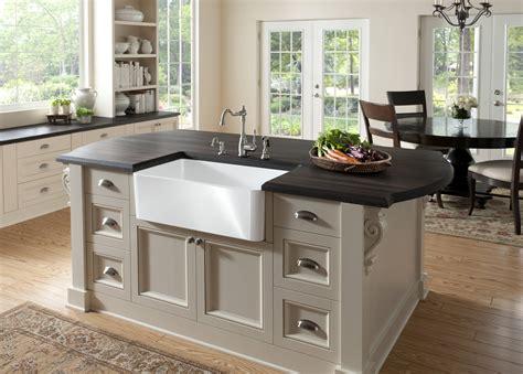 sink in kitchen apron front sink