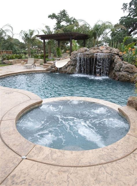 awesome backyard pools triyae awesome backyard swimming pools various