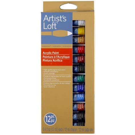 acrylic paint artist loft artist s loft fundamentals acrylic paints