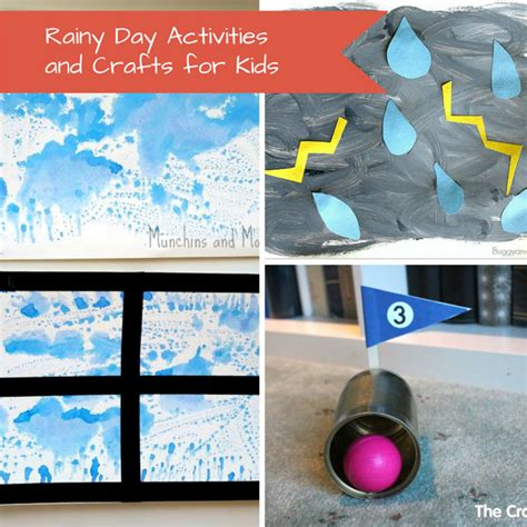 rainy day crafts for rainy day activities and crafts for