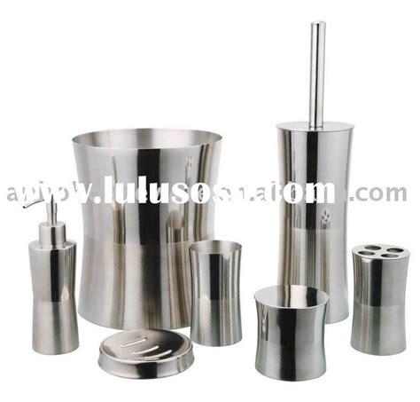stainless steel bathroom accessories wenko pieno bathroom accessories set stainless steel at
