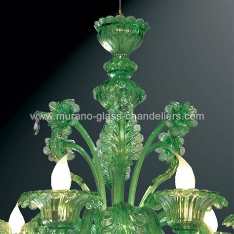 green glass chandelier quot giada quot green murano glass chandelier murano glass