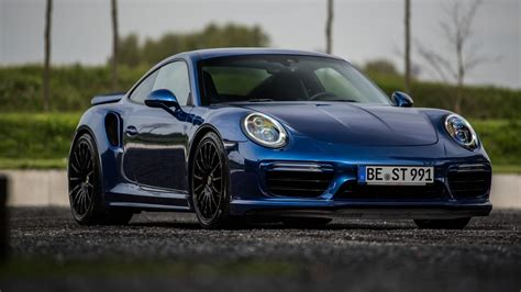 Porsche Turbo S 2017 porsche 911 turbo s blue arrow by edo competition