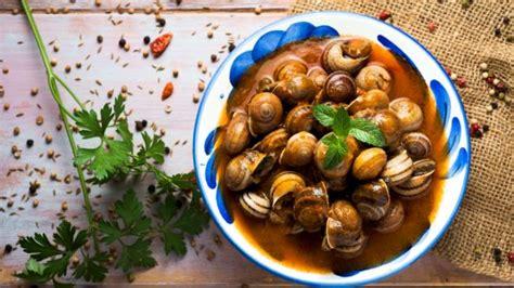 como cocinar los caracoles receta de paella de caracoles