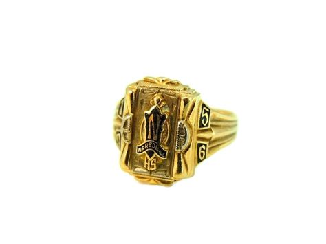 jewelry classes los angeles 1956 narbonne high school class ring 10k los angeles