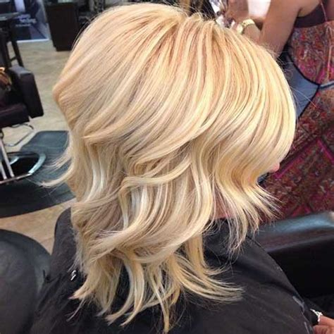 pictures of the back of shoulder lenth hair 20 popular wavy medium hairstyles hairstyles haircuts