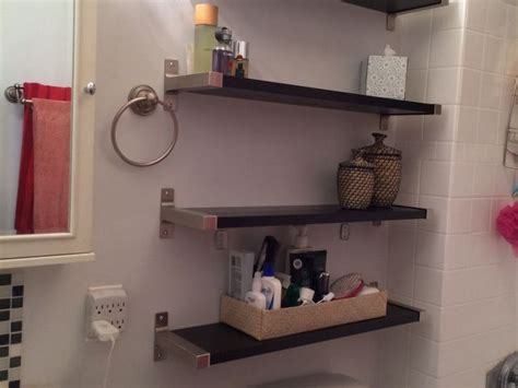 bed bath and beyond bathroom shelves bathroom shelving ideas toilet