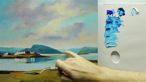how to paint acrylic how to paint landscapes colour mixing acrylics using