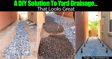 backyard drainage ideas a diy solution to yard drainage that looks great
