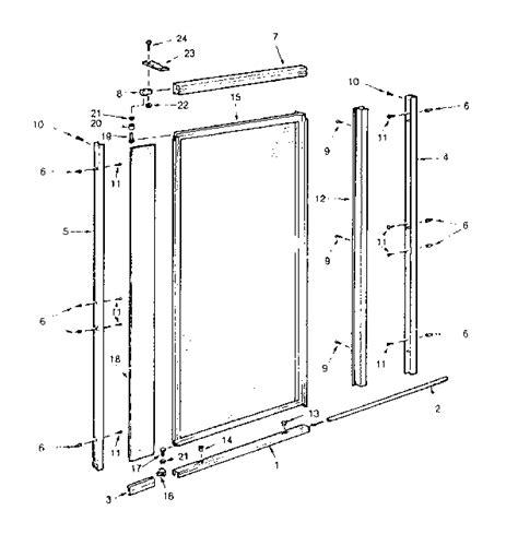 basco shower door parts basco shower door replacement parts shower doors