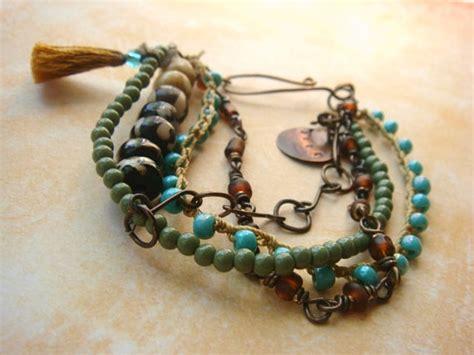 bohemian jewelry bohemian jewelry tassel boho chic tribal by tamilopezdesigns