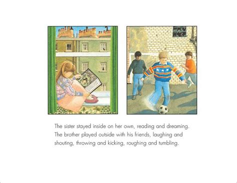 the tunnel picture book anthony browne the tunnel childrens book illustrations