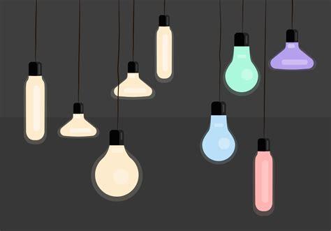 hanging lights hanging light vectors free vector stock