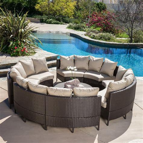 conversation set patio furniture shop best selling home decor newton 10 wicker patio