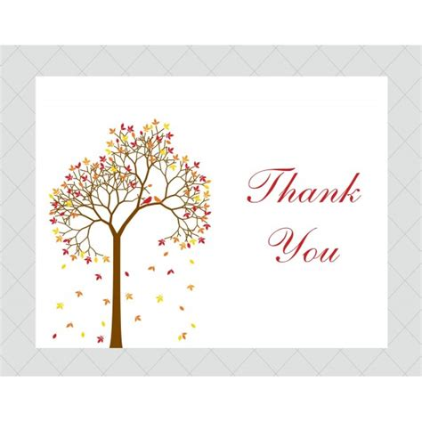 you cards tree thank you cards style 486 whimsicalprints