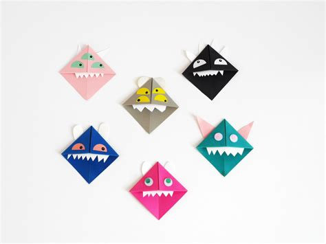 origami monsters origami paper monsters