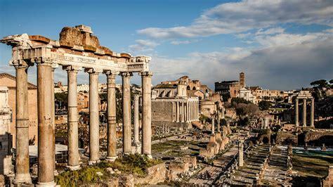 que era el foro romano un viaje en el tiempo en el foro romano las mil millas