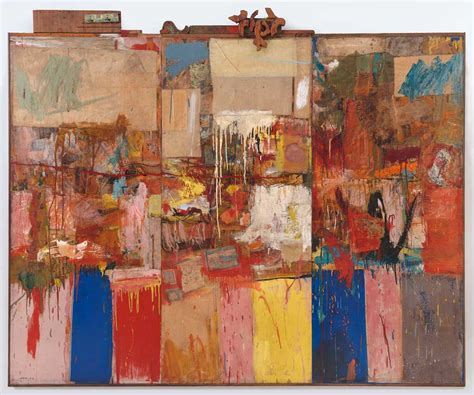 show about painting robert rauschenberg collection 1954 1955 183 sfmoma